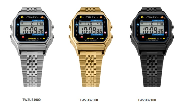 Arcade with T80 x PAC-MAN by Timex